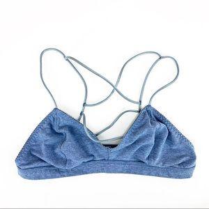 •Victoria's Secret• Blue Cotton Strappy Bralette